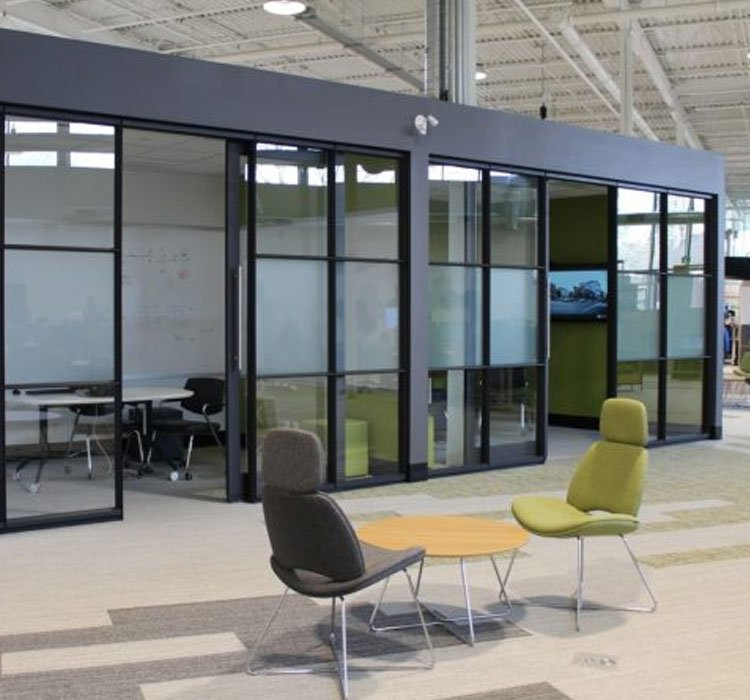 New Age Office Interiors London Ontario Verto360