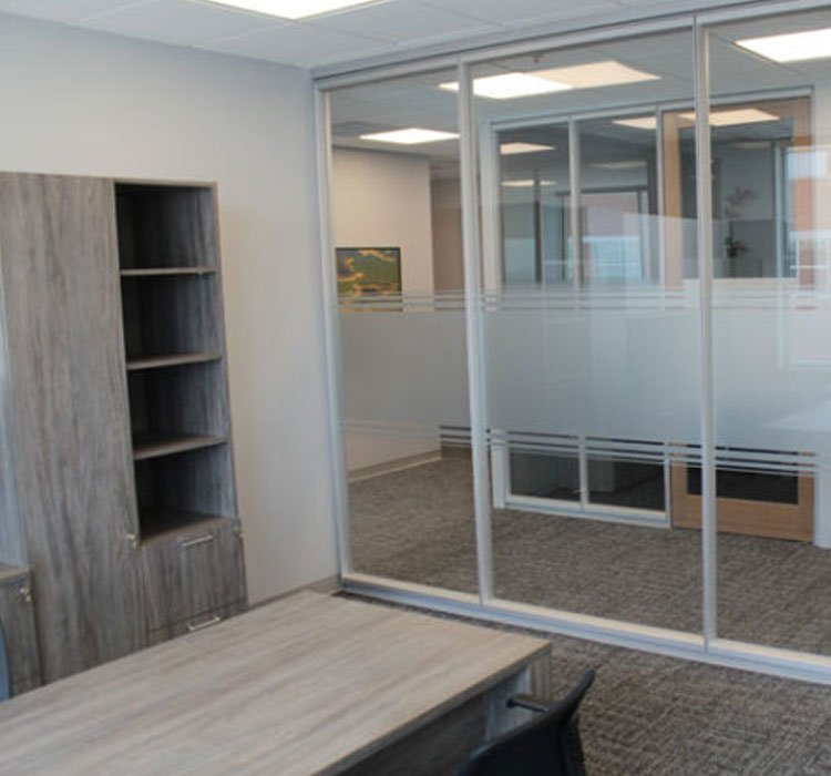 Glass Door Office Installation London Ontario Verto360